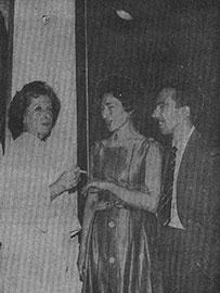(Foto: Remedios Varo con Juan Martín y Alma Martín - 1962)