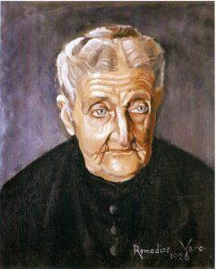 Cat.10 Retrato de la Abuela  Josefa Zejalvo 1926