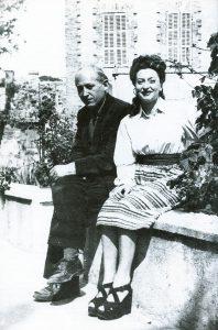 Remedios y Peret 1941 Mexico
