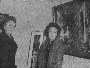 Salon de la Pintura Femenina 1958